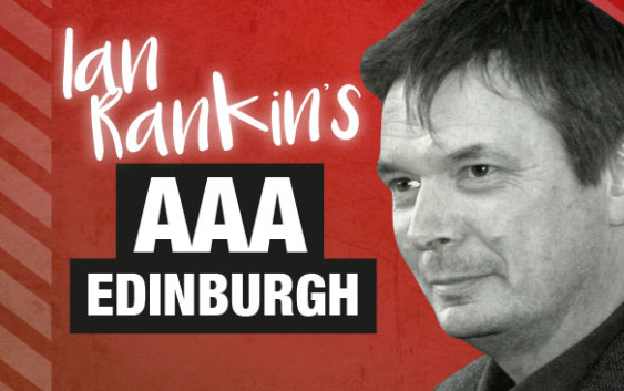 Author Ian Rankin answers questions from AAA Edinburgh
