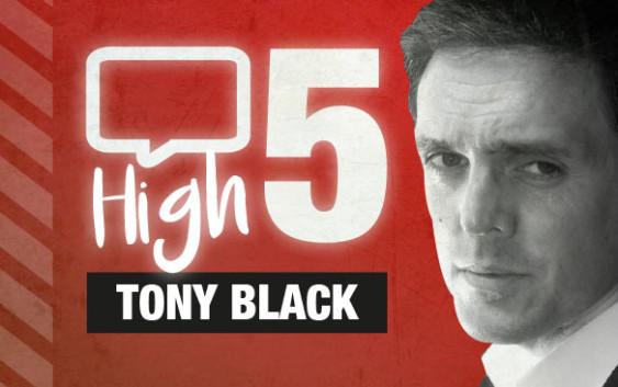 High Five Tony Black Aaa Edinburgh border=