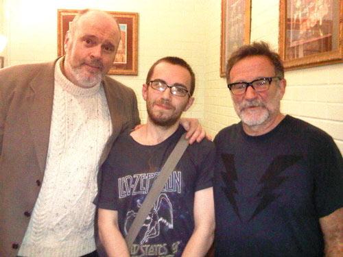 Jamie Kilstein - Robin Williams protege