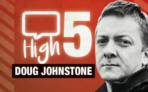 Doug Johnstone Edinburgh author