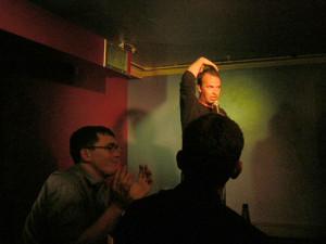 Doug Stanhope at The Tron, Edinburgh, 2004, Photographs by Simon McKenzie.