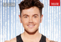 Dancing On Ice star Ray Quinn makes flying visit to Edinburgh