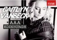 Caitlyn Vanbeck's AAA Edinburgh