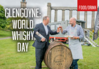 Glengoyne launches World Whisky Day festivities on Calton Hill
