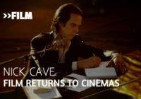Nick Cave film to return to cinemas