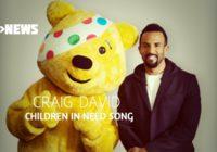 Listen to Craig David's single for Children In Need