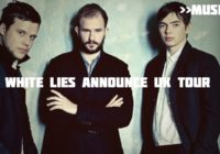 White Lies set for intimate Edinburgh gig