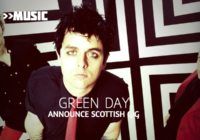 Green Day announce huge outdoor Scottish gig