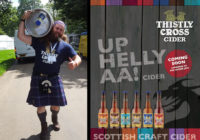 Thistly Cross launches first ever Up Helly Aa Cider