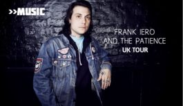 Frank Iero And The Patience to visit Edinburgh on UK tour