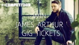 Win a pair of tickets to see James Arthur in Glasgow