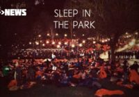 Thousands brave the cold in Edinburgh at Sleep In The Park