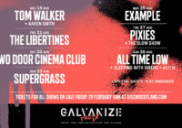 Tom Walker, The Libertines, Two Door Cinema Club, Supergrass, Example, Pixies, All Time Low to play Galvanize Festival